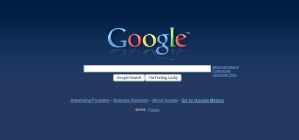 blue google